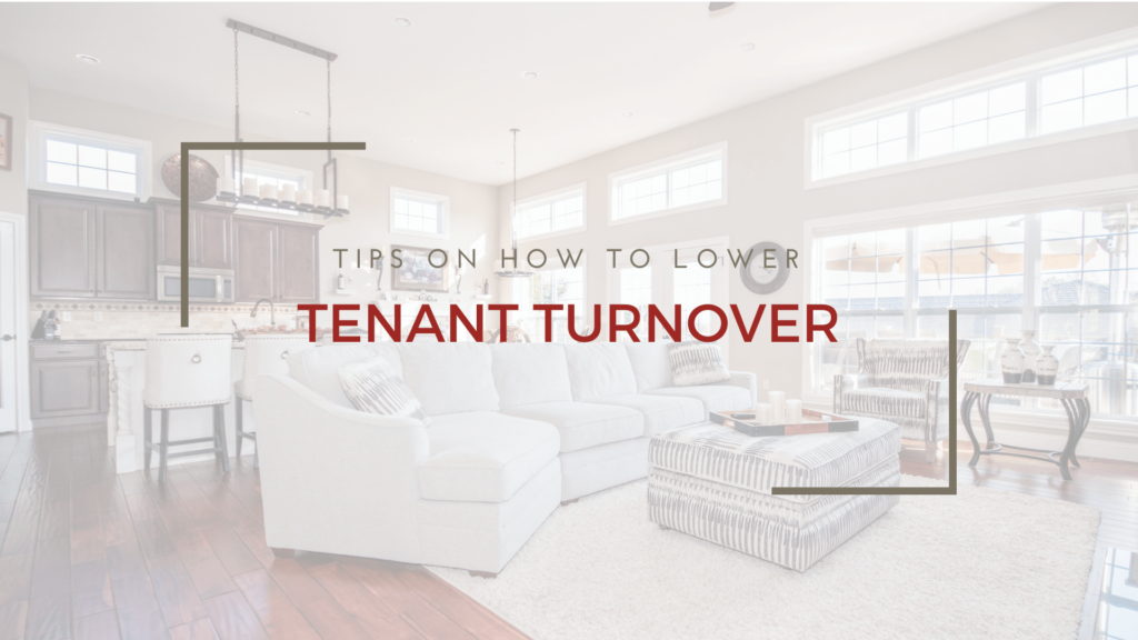 Tips on How to Lower San Francisco Tenant Turnover